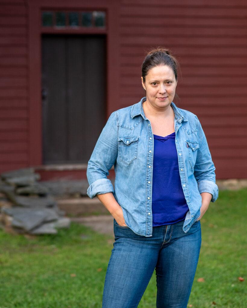 Photo of Lindsay Raymondjack by Moho Photo Burlington Vermont