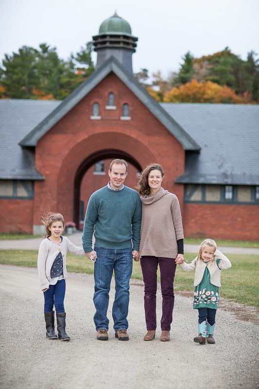 Family Portrait at Shelburne Farms Farm Barn LINDSAY RAYMONDJACK_013
