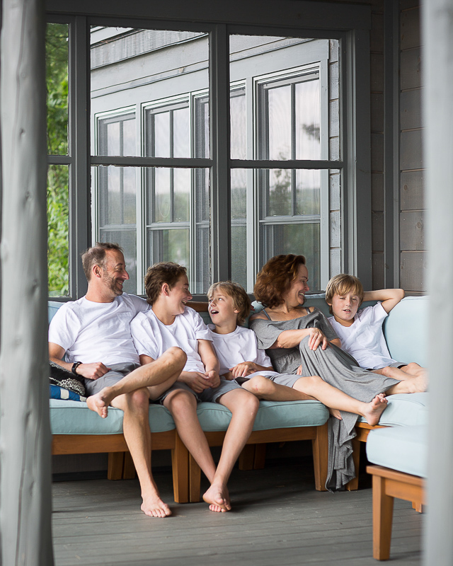 Cabin NEK Vermont Family Portraits LINDSAY RAYMONDJACK
