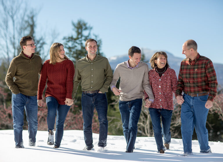 Winter Stowe Vermont Family Portraits llbean LINDSAY RAYMONDJACK_004